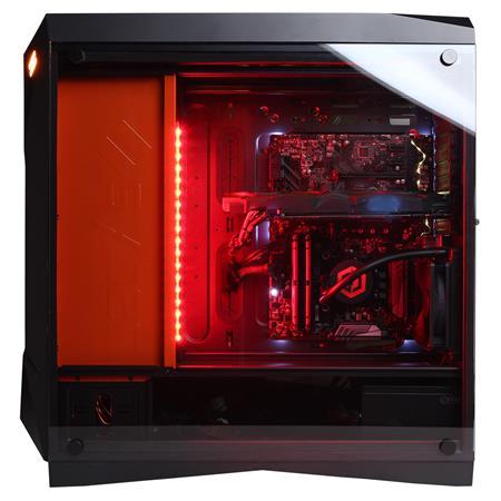 CyberPowerPC Syber Forti SFG9EX Gaming Desktop Computer, Intel Core  i9-9900K 3 6GHz, 32GB RAM, 3TB HDD + 1TB SSD, NVIDIA GeForce RTX 2080 Ti  11GB,