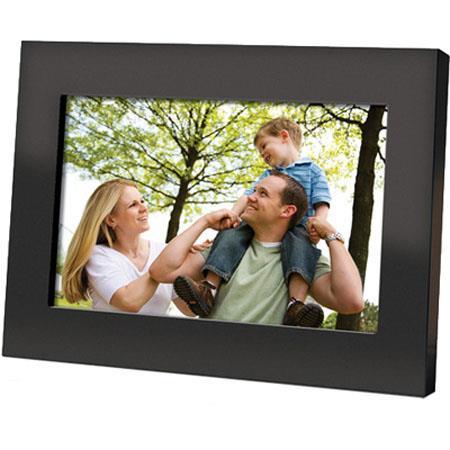 Coby Dp700 Black Digital Photo Frame 7Inch Wide Screen Dv