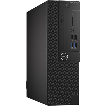 Dell OptiPlex 3050 Small Form Factor Desktop Computer, Intel Core i3-7100  3 9GHz, 4GB RAM, 500GB HDD, SuperMulti DVD Burner, Windows 10 Pro