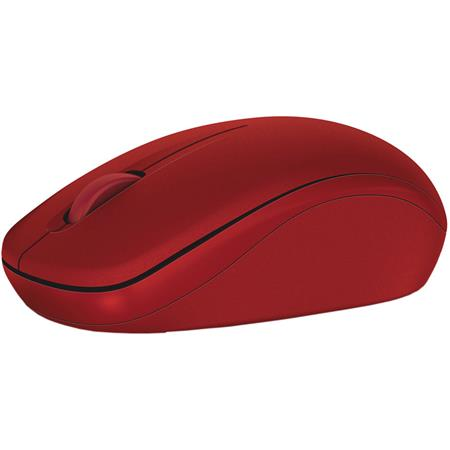 Dell WM126 Optical Wireless Mouse, Red