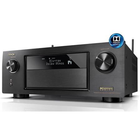 Denon AVR-X4200W 7 2 Channel Full 4K Ultra HD A/V Receiver with Wi-Fi and  Bluetooth, HDCP 2 2, 8x HDMI Input, 2x Main & 1x Zone HDMI Output, Dolby