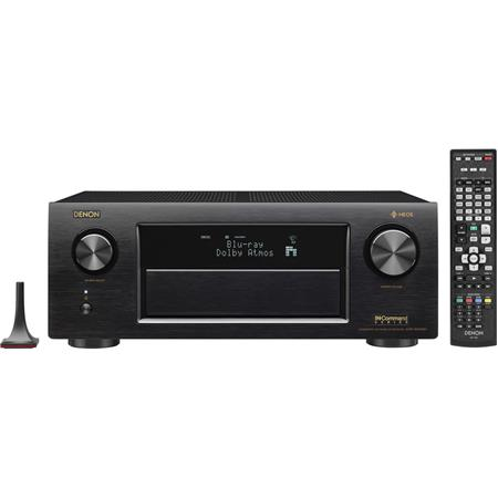 Denon AVR-X4400H 9 2-Channel Network A/V Receiver with Built-In Wi-Fi