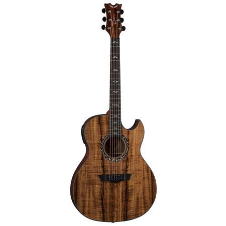Dean Exhibition Semi Acoustic Guitar Gloss Natural