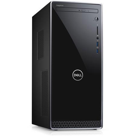 Dell Inspiron 3670 Desktop Computer, Intel Core i3-8100 3 60GHz, 8GB RAM,  1TB HDD, Windows 10 Home