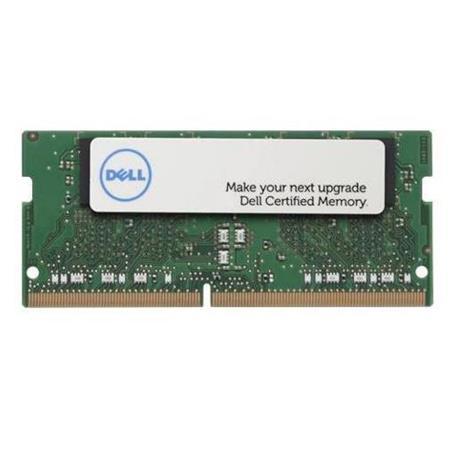 Dell 8GB 260-Pin SO-DIMM DDR4 RAM Module, 2400MHz (PC4-19200) Speed, CL=15,  Unbuffered, Non-ECC, Dual Rank, 1 2V