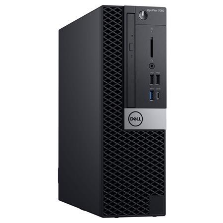 Dell OptiPlex 7060 Small Form Factor Desktop Computer, Intel Core i7-8700  3 2GHz, 8GB RAM, 256GB SSD, Windows 10 Pro