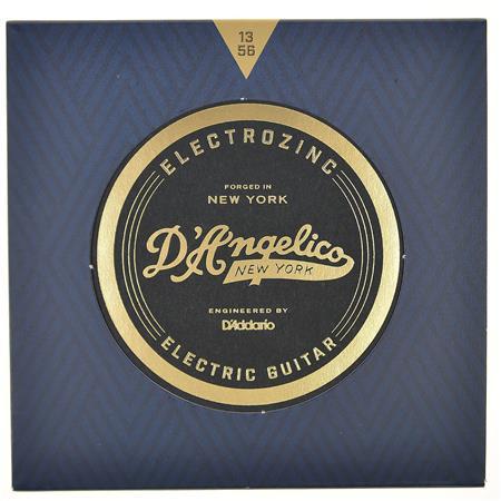 DAngelico Electrozinc Jazz 13-56 Medium Electric Guitar Strings