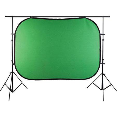 Digital Juice 5x7' Chroma Pop Blue/Green and Chroma Pop Stand Kit