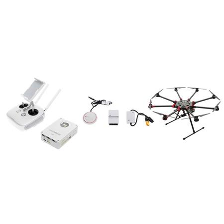 DJI Spreading Wings S1000+ Professional Octocopter with A3 Flight  Controller and Lightbridge 2 Combo