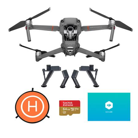 DJI Mavic 2 Enterprise Zoom Camera Drone With Accessory Bundle