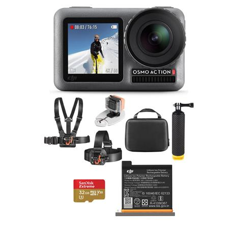 Accessory Kit for DJI Osmo Action 4K Camera