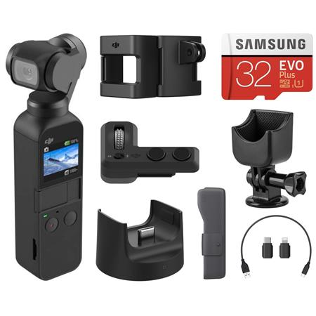 dji osmo pocket 3 axis gimbal stabilized handheld camera with dji expansion kit
