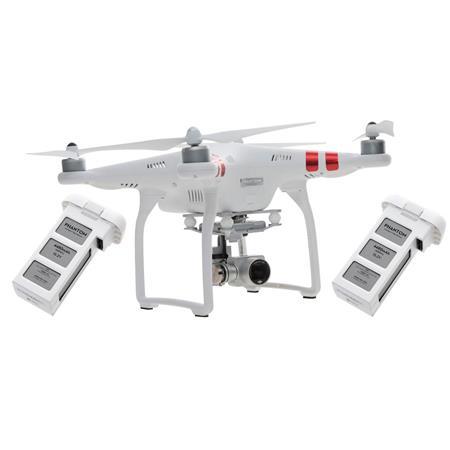 DJI Phantom 3 Standard Quadcopter + Extra Battery
