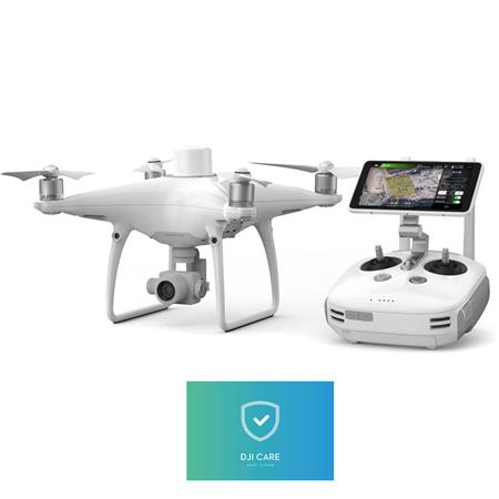 DJI Phantom 4 RTK Drone Plus D-RTK 2 Mobile Station Combo for Aerial  Surveying and 3D Mapping, Remote Controller Included (Includes Enterprise  Shield