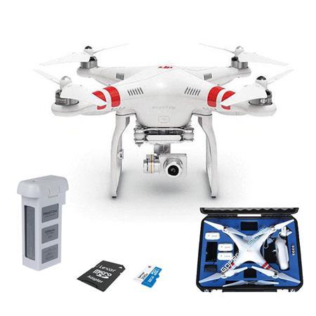DJI Phantom 2 Vision + v3 0 Quadcopter Drone w/14M VISION CKIT