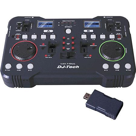 DJ Tech Mix Free 2 4GHz Wireless USB DJ Controller with Deckadance LE DJ  Software