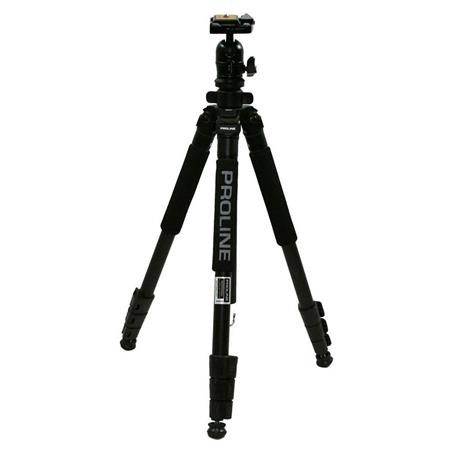 Dolica AX600B250 60-Inch Aluminum Alloy Proline Traveler Edition Tripod with High Performance Ball Head Black