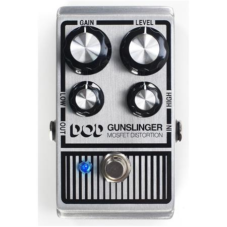DigiTech DOD Gunslinger MOSFET Distortion Pedal