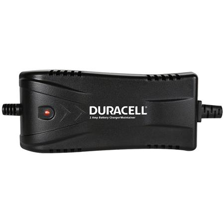 Duracell DRBM2A 2 Amp Battery ChargerMaintainer for Car, Trucks, SUV's, RV's, Boats, Motorcycles, ATV's, Snowmobiles, Watercraft