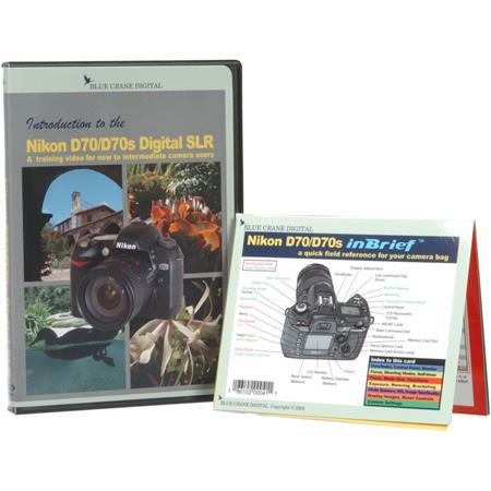 Blue Crane DVD: Introduction to Nikon D70/D70S DSLR BC601