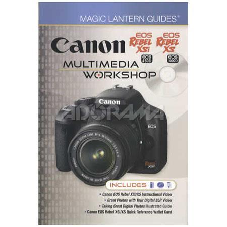 amazon fashion outlet store sale Magic Lantern Guides: Canon EOS Rebel XSi & EOS Rebel XS (EOS 450D / EOS  1000D) Multimedia Workshop