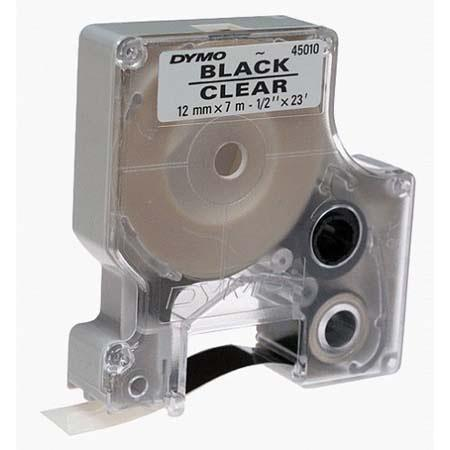 Dymo Black Print/Clear Tape: Picture 1 regular