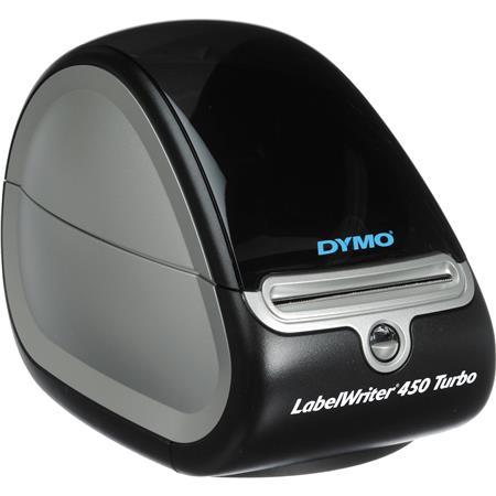 Dymo LabelWriter 450 Turbo Label Printer with 600x300dpi Resolution for  Windows XP/Vista or Mac OS