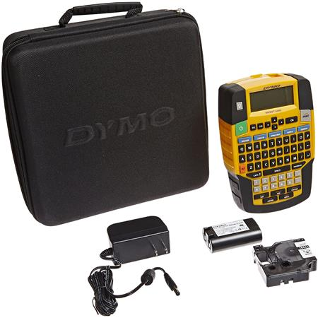 Charger Case DYMO RHINO 4200 Label Maker  Bundle Rechargeable Battery