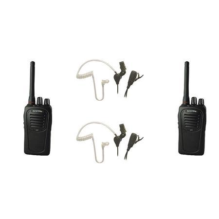 Eartec Scrambler SC-1000PLUS Simplex Wireless 2-Way Radio with Li-Ion Battery