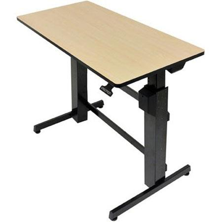 Ergotron Workfit D Sit Stand Desk Birch Surface Shopyourway