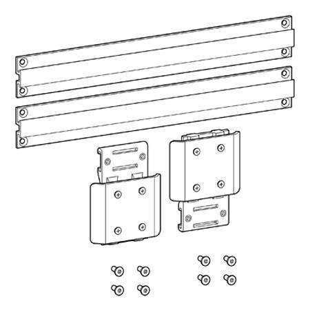 Ergotron External Wall Track Kit: Picture 1 regular