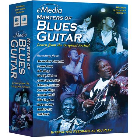 eMedia Masters of Blues Guitar Software for Windows, Electronic Download