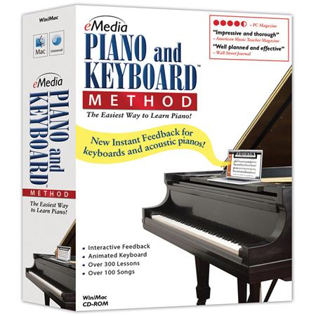 eMedia Piano and Keyboard Method v3 Software with 300+ Beginner Piano  Lessons for Mac, Electronic Download