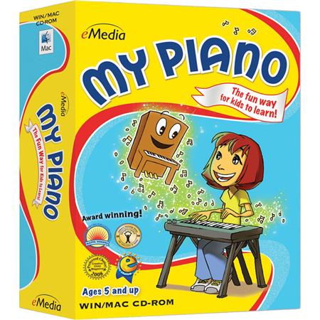 eMedia My Piano Software with 100+ Child Piano Lessons for Windows,  Electronic Download