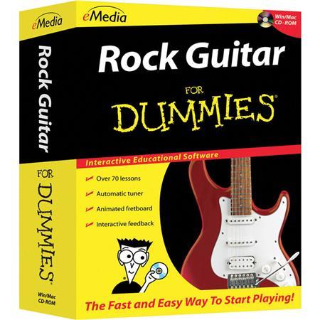 eMedia Rock Guitar For Dummies Software for Windows, Electronic ...