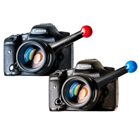 LensShifter Pair Red /& Blue Pair Balanced Focus and Zoom Grip for DSLR and Mirrorless Camera Lens