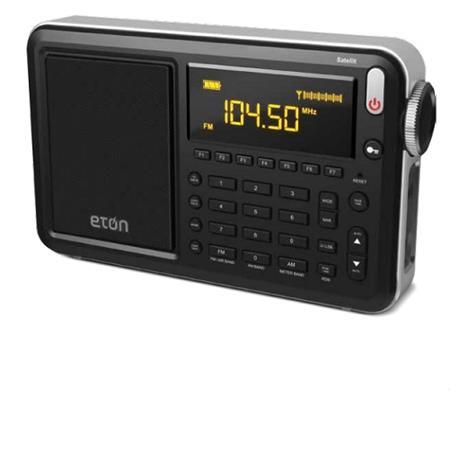 Eton Satellit AM/FM/LW/Shortwave Radio with Single Sideband, Aircraft Band