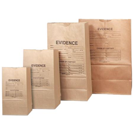 Evident Large Paper Evidence Bags Picture 1 Regular
