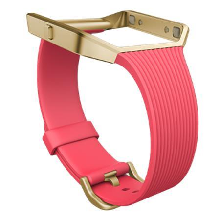 Fitbit Slim Band with Metal Frame for Blaze Activity Tracker, Small,  Pink/Gold