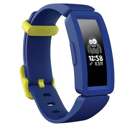 Fitbit Ace 2 Kids Activity Tracker, Night Sky/Neon Yellow