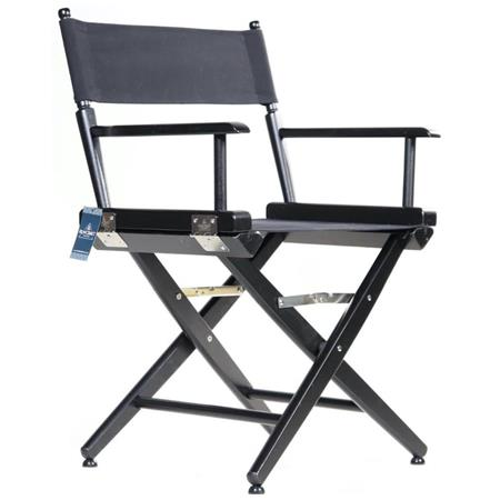 Pleasant Filmcraft Pro Series 18 Short Director Chair Black With Black Canvas Ncnpc Chair Design For Home Ncnpcorg