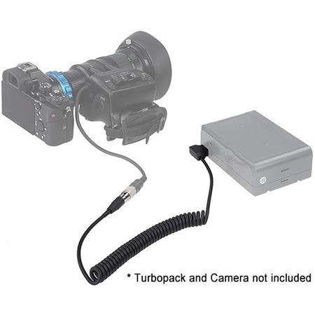 Fotodiox Pro Turbopack 9000 Kit Nikon DC 12v Power Pack with B4 2//3 6-pin Hirose Power Cable for Fujinon Canon Angenieux Schneider Lens Servo