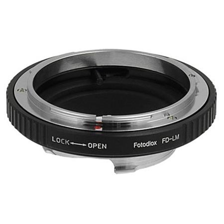 Fotodiox Mount Adapter with Built-In Iris Control for Canon FD Lens to  Leica M-Series Camera