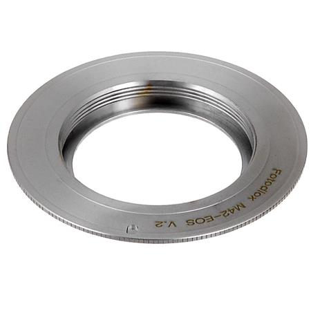 Pixco Pro Lens Mount Adapter for M42 Lens to Canon FD Mount Camera Adapter for AE-1 A-1 F-1