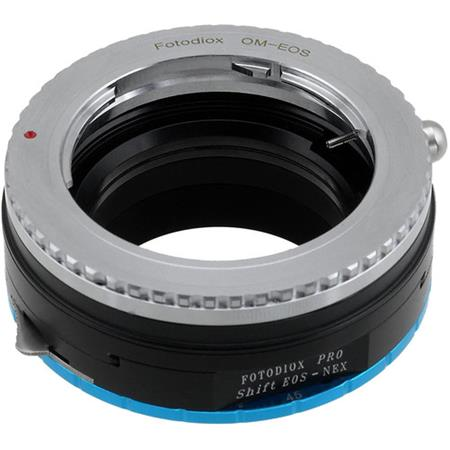 Fotodiox Pro Combo Shift Lens Mount Adapter Compatible with Bronica ETR Lenses to Sony E-Mount Cameras