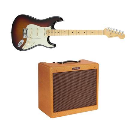 Fender Stratocaster Electric Guitar Wfender Blues Junior Ltd