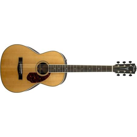 Fender Paramount PM-2 Deluxe Parlor Acoustic Electric Guitar