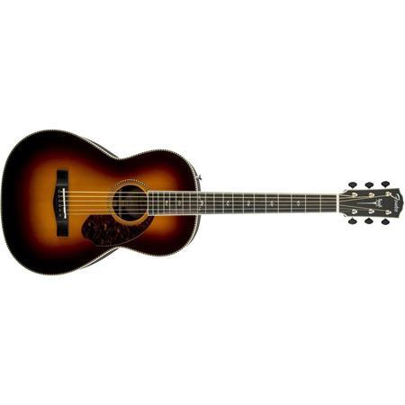 Fender Paramount Acoustic-Electric Guitar (Vintage Sunburst)