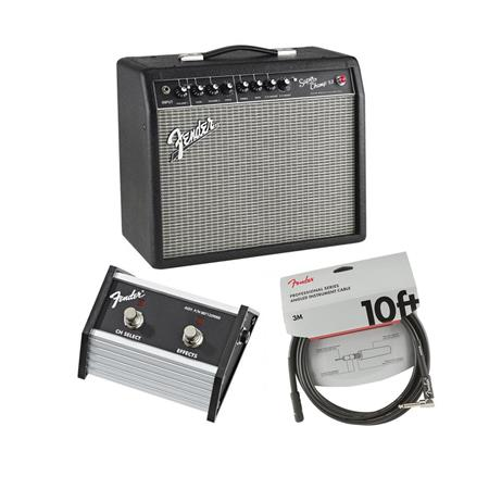fender super champ x2 guitar amplifier with 10 speaker w 2 bt footswitch cable 2223000000 a