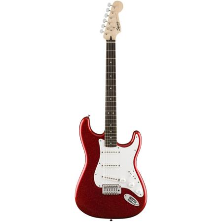 fender squier bullet stratocaster limited edition electric guitar red sparkle 0370011512. Black Bedroom Furniture Sets. Home Design Ideas